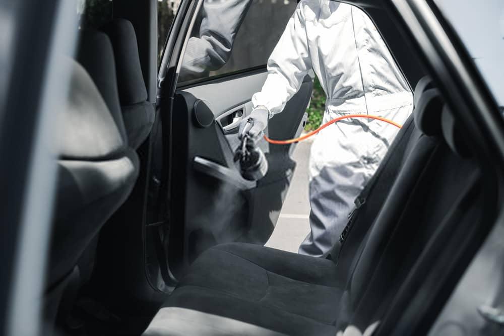 desinfectar coche despues enfermedad