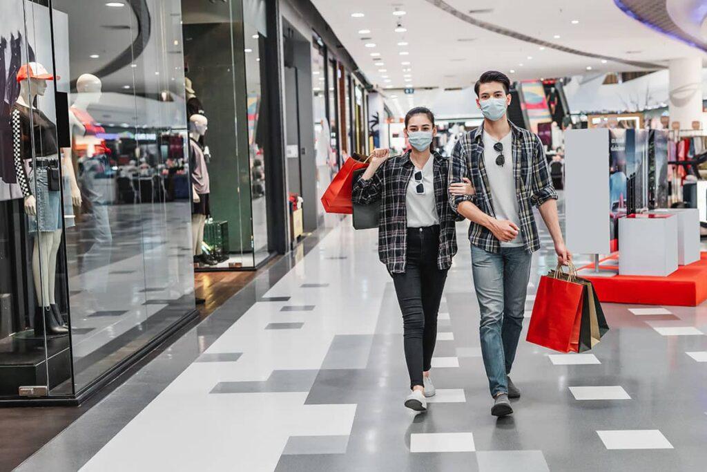 como limpiar un centro comercial