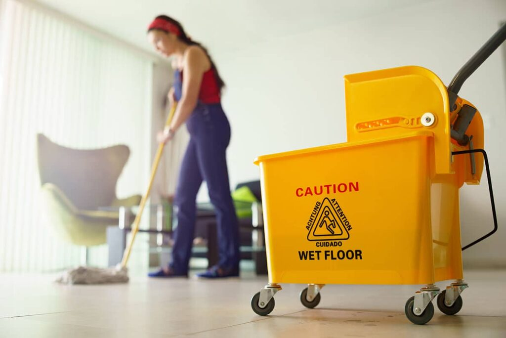 limpieza piso vacaciones